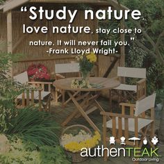 At AuthenTEAK, High Quality Outdoor Furniture, Along With Outstanding Customer  Service Is Our. Outdoor Living SpacesGrillsFire ...