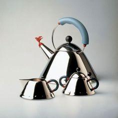 Fancy - Bird Whistle Tea Kettle by Michael Graves
