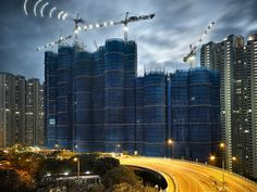 Metamorphosis in Hong Kong Documented in 'Cocoon' Photo Series,© Peter Steinhauer