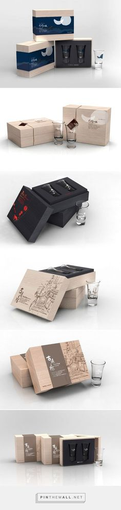 TaiwanGlass via PackageInspiration by We Studio curated by Packaging Diva PD. Taiwan Boutique glass packaging.