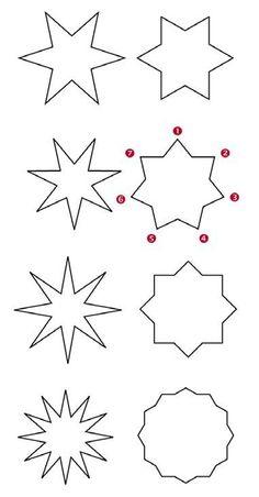 Moldes De Estrellas Para Imprimir Y Recortar Reyes Stars Star