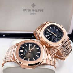 His and Hers Patek Philippe Rose Gold Couple! DM for pricing! . . . .