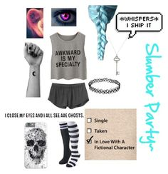 """""""Pajamas~"""" by anime-loverx on Polyvore featuring SO, RVCA and Tiffany & Co."""