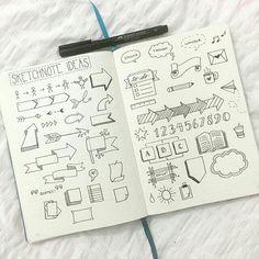 Cenas para o caderno números setas banners doodles caligrafia letras bonitas My Journal, Bullet Journal Inspiration, Journal Ideas, Journal Fonts, Doodle Inspiration, Doodle Ideas, Airplane Doodle, Banners, Sketch Notes
