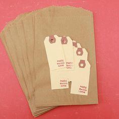 DIY treat bag - crafting kit from iloveitall Etsy shop
