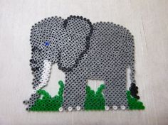 Elephant hama beads by mes-petites-creations-13