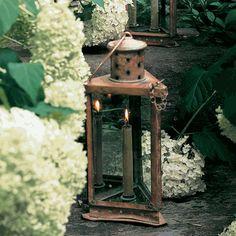 Monticello Copper Lantern