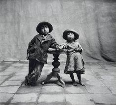 Cuzco children by Irving Penn