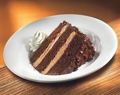 Melt in your mouth Hershey's Chocolate Cake is the best to this day!