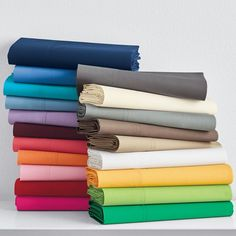 Classic Percale Collection.  Twin flat on sale $14 from $18