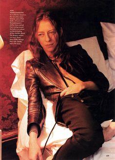 saloandseverine:  Vogue US March 1997, Venus Envy Ann Demeulemeester by Annie Leibovitz