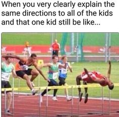 Coach got me in so many track and field events I got confused. - Funny Sports - - Coach got me in so many track and field events I got confused. The post Coach got me in so many track and field events I got confused. appeared first on Gag Dad. Track And Field Events, Track Field, Haha, Funny Sports Pictures, Funny School Pictures, Funniest Pictures, Hilarious Pictures, Funny Quotes, Funny Memes