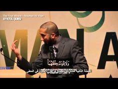 المعجزة اللغوية في آية الكرسي - الأستاذ نعمان علي خان - YouTube