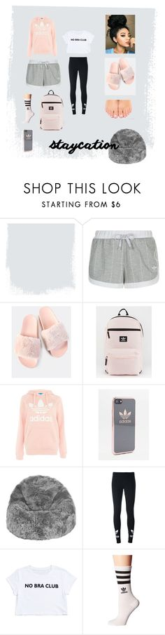 """""""adidas chill"""" by isabella-cruff ❤ liked on Polyvore featuring adidas Originals, adidas and A by Amara"""