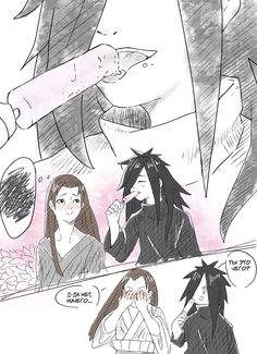 HashiMada sketch 1 by rarane--aren on DeviantArt Naruto Shippuden Sasuke, Naruto Kakashi, Anime Naruto, Madara Vs Hashirama, Naruto Comic, Naruto Cute, Otaku Anime, Zelda Anime, Loki Drawing