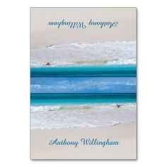 Destination Wedding Reception Cards Coastal Vows Tented Beach Wedding Place Cards
