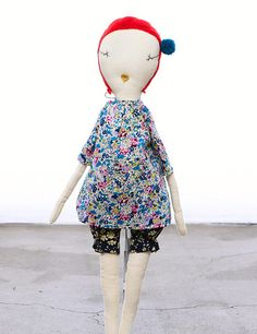 ❤︎   jess brown doll - 'pip'