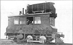 Matray County Rwy. Gas switcher locomotive. Built by the Mc Keen Motor Car Co..  6 cyl. 300 H.P.