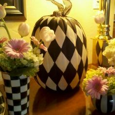 Pumpkins I painted   # Pin++ for Pinterest #