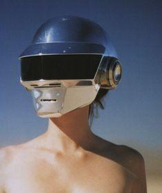 robot 2 - helmet stolen from daft punk