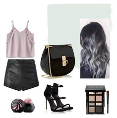 """My bag is little, my personality is big."" by catqueen13 ❤ liked on Polyvore featuring Chicwish, La Perla, Lipsy, Chloé and Bobbi Brown Cosmetics"