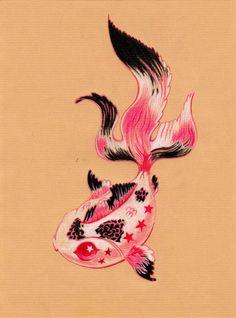 Fish by FannyCl.deviantart.com on @deviantART