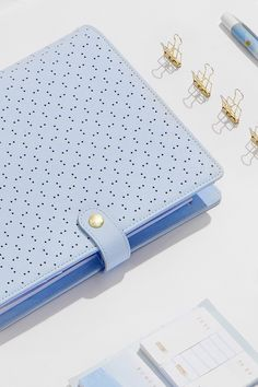 Get excited for our newest kikki.K Planner styles including Ice Blue and Peach in gorgeous perforated leather #kikkiKPlannerLove