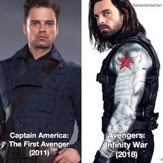 """@sebastianstanfan on Instagram: """" I love art. I feel personally attacked by that picture of Sebastian as Bucky. Wow. Also. Why…"""""""