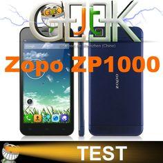 Aujourd'hui le JT Geek vous propose le test du Zopo ZP1000, le nouveau smartphone Zopo de ce mois d'avril 2014. √ Ecran tactile 5,0 pouces HD 1280×720 √ Ultra slim 7,2mm d'épaisseur √ Processeur MT6592 Octacore 8×1.7GHz √ 1GB RAM   16GB ROM √ Double SIM 3G 900/2100MHz √ ...