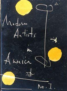 Modern Artists in America, No 1