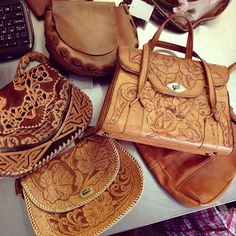 Did you want a tooled leather bag? #BuffaloExchange #SanFrancisco #Mission has plenty to go round!