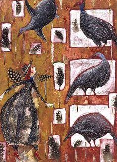 Katalin Szegedi Comic, Bird Illustration, Line Drawing, Illustrator, Drawings, Painting, Image, Children Books, Art