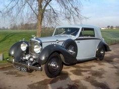 1938 Bentley 4 1/4 Litre Derby Fixed-Head Coupe