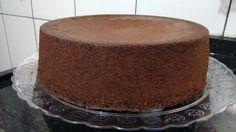 pão de ló de chocolate fácil