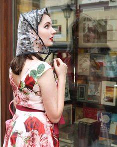 Rainy day tip for all pinups: always carry a rain bonnet to protect your pinup hair in emergencies. It certainly came in handy… Rain Bonnet, Rain Wedding, Pin Up Hair, Future Goals, Pinup, Raincoat, Plastic, Women's Fashion, How To Wear