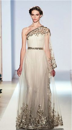 Zuhair Murad haute couture s/s 2013...like a greek goddess and indian princess all rolled into one
