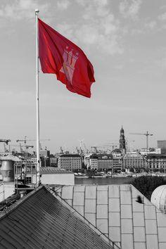 Hamburg Fahne | Bildschönes Hamburg