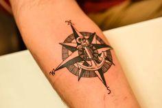 Personal Compass done by Debi at the Illustrator Tattoo in Dallas Ga.