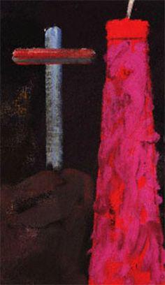 "RB Kitaj's ""Passion: Cross and Chimney"" (1985)"