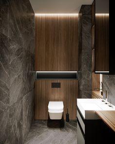 Pechersky Apartment // cgi visualization by Lizaveta Kuzmenka & Ruslan Bondarchuk. This rendering was done by Autodesk Max & Corona Renderer. Washroom Design, Bathroom Design Luxury, Bathroom Layout, Modern Bathroom Design, Bedroom Modern, Bathroom Storage, Small Toilet Design, Small Toilet Room, Bad Inspiration