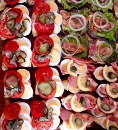 Danish sandwiches