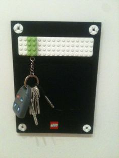 Put a lego on your keychain...this is both genius and awesome!