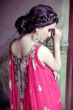 Back side Design of Punjabi Suit