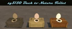 sg5150 — sg5150 Back to Nature ToiletLisen Recolor/3 to 4...