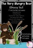 The Very Hungry Bear Literacy Unit Rhyming Activities, Book Activities, Sentence Building, Writing Resources, Sentences, Literacy, The Unit, Bear, Education