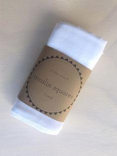 Global Baby | Global Baby 100% Cotton Muslin Squares 3 Pk, Bathing