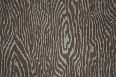 Faux Bois fabric in caramel/ oatmeal, $25 a yd