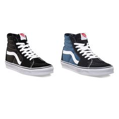 SCARPE VANS SK8-HI ALTE uomo SNEAKERS AUTHENTIC SKATE SHOES military nuovo