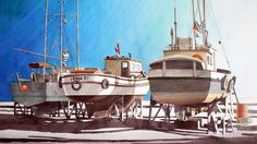 Steveston boats Richmond, bc, canada