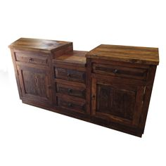 Contemporary Art Sites This gorgeous rustic bathroom vanity is hand crafted from reclaimed barn wood The wood has been lightly sanded and buffed